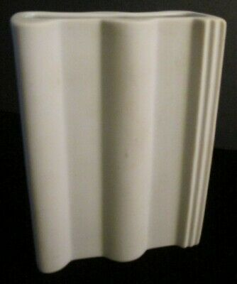 Rosenthal Studio Line Bisque White Porcelain Rectangular Vase