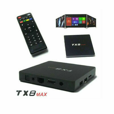TV BOX TX8 MAX 4GB 64GB Android S905X 4K TV BOX WI-FI