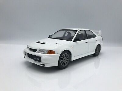 Mitsubishi Lancer RS Evolution VI / EVO 6  1998  weiss - 1:18 IXO *NEW*