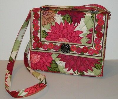508a9d91976b VERA BRADLEY JULIA Turn Lock NIGHT   DAY Retired Bag Purse Crossbody ...