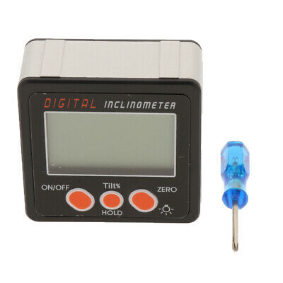 Digital LCD Level Box Protractor Angle Finder Level Gauge Inclinometer, IP54