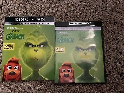 The Grinch (4k 2018/2019) 4K DISC & CASE ONLY ⬇️Read⬇️