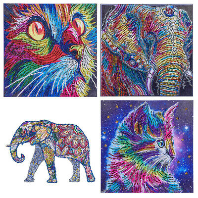 Special Shaped Diamond Painting Crystal Embroidery Art Kit - Colorful Aniaml