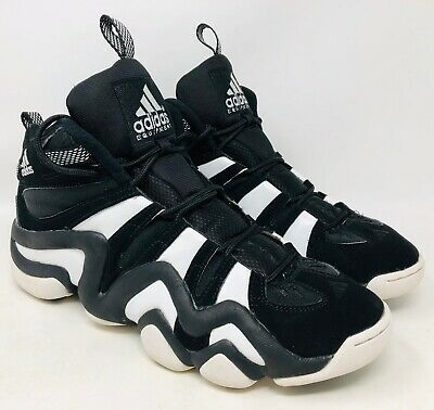 Men s Adidas Crazy 8 Black White Kobe Bryant Basketball Shoes G21939 sz 11.5 c69dcdc22