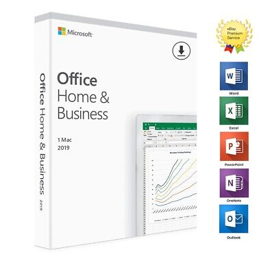⭐ 🔑 Microsoft Office Home and Business 2019 |Mac | 100% Genuine | Lifetime ⭐ 🔑