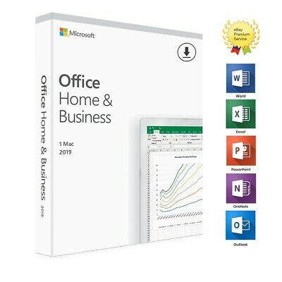 ⭐ Microsoft Office Home and Business 2019 |Mac | 100% Genuine | Lifetime ⭐
