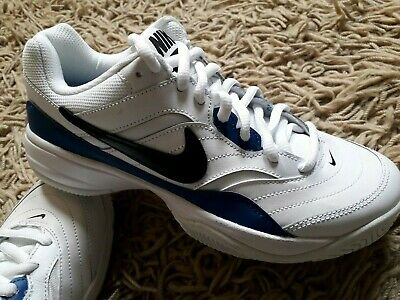 hot sale online 120bc feaf1 Nike Court Lite Tennis Shoes Trainers Size Uk 6 New Leather 845021 114 White