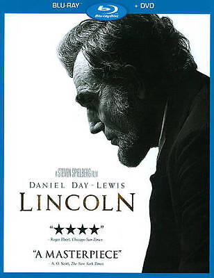 BRAND NEW Lincoln (Blu-ray/DVD, 2013, 2-Disc Set) Factory SEALED W/Slipcover