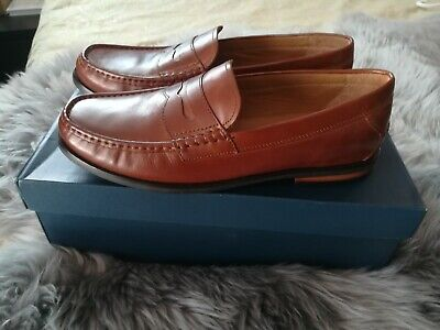 feaee190b74 COLE HAAN AIDEN Grand II Penny Loafer British Tan Men s US Size 10.5 ...