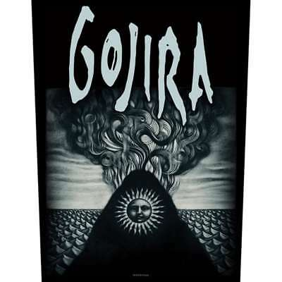 """Gojira - """"magma"""" - Large Size - Sew On Back Patch"""
