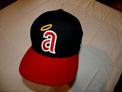 bc161fde9f488 Los Angeles California Angels Cooperstown Collectio Fitted 7 New Era  59Fifty Hat
