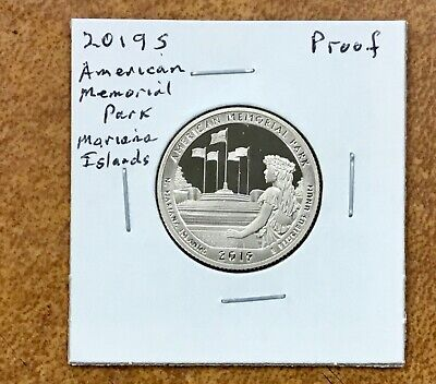 2019-S CLAD PROOF Mariana Islands American Memorial Park    QUARTER