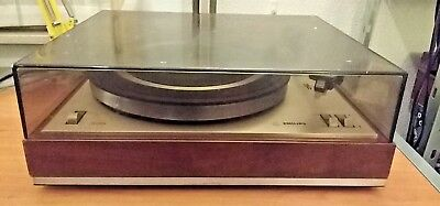 Philips 308 turntable + GP400 (non original stylus) tested & working