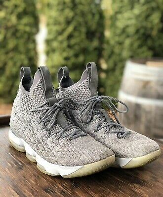 c8852365151a1 NIKE LEBRON XV EP 15 Guardians Wolf Grey Gold City Edition Men Shoe ...