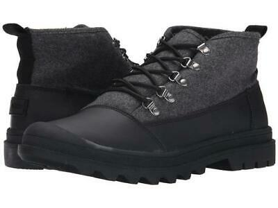 8e933a4ae87 TOMS MENS CORDOVA Hiking Boots Shoes Black Wool Leather US 9 ...