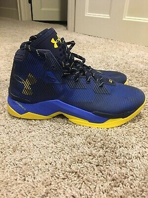 c1b23d339011 MEN S UNDER ARMOUR Curry 2.5 Basketball Shoes Size 10.5 Red Blue ...