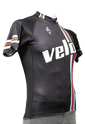 Panache VeloNews Men Short Sleeve Cycling Jersey MEDIUM 2XL Black Road MTB  Bike dee520b8d