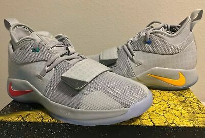 competitive price 04a82 95884 NIKE PG 2.5 Playstation Paul George Wolf Grey BQ9677 001 GS Youth Size 7