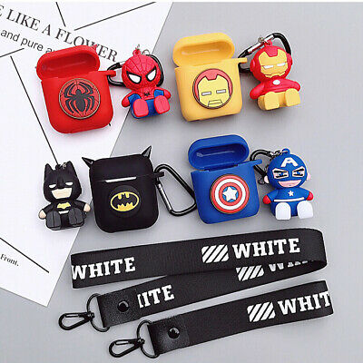 Case Protective Skin Holder Bag for AirPods Apple Accessories Headset Anti-lost