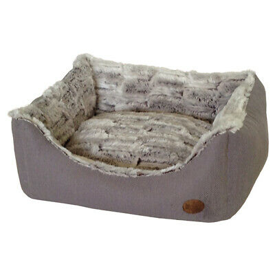 Nobby Dog Bed Rectangular Cacho Grey, Various Sizes,