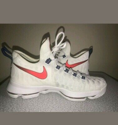 official photos 81659 0eef8 Nike KD 9 Independence Day USA 843392-160 Men s Size 9.5