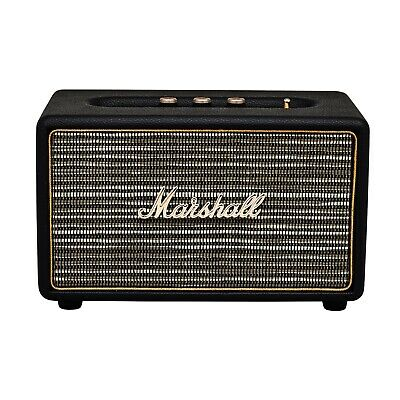 Marshall Action Bluetooth Portable Stereo Speaker Wireless Black Factory Sealed