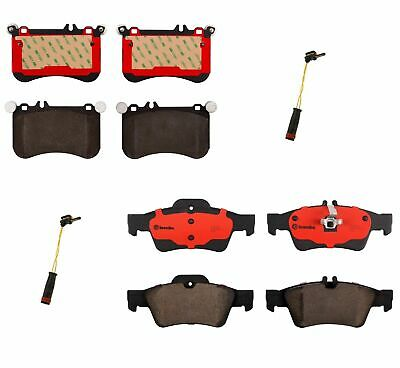 Brembo Brake Pads >> Front Rear Brembo Brake Pads With Sensors Kit For Mb X218 W218