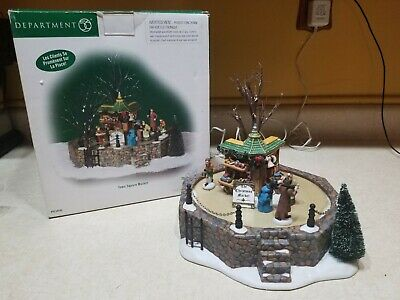 Department 56 Dickens Animated Town Square Market #56.58590