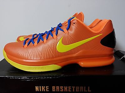 quality design 5f56e f8df3 NEW NIKE KD V 5 ELITE SZ 11.5 12 Orange Yellow Blue 585386-