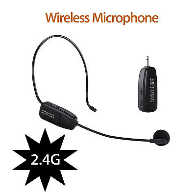 2 IN 1 2.4G Wireless Microphone MIC Receiver + 3.5mm Jack Plug For Voice Booster
