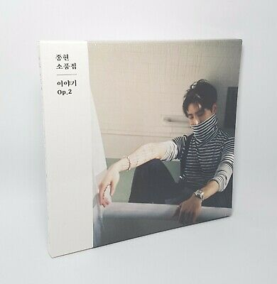 K-POP JONGHYUN [SHINEE] THE COLLECTION THE STORY Op.2 Photo Ver. CD+Booklet