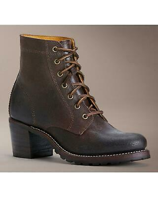 c59428386060  378 FRYE SABRINA 6G Lace Up Leather Ankle Boots Sadie Women s Size ...