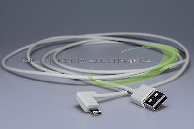 Sme Apple Lightning Cable for Iphone Ipad Ipod White Angled 2m Daten&ladekabel