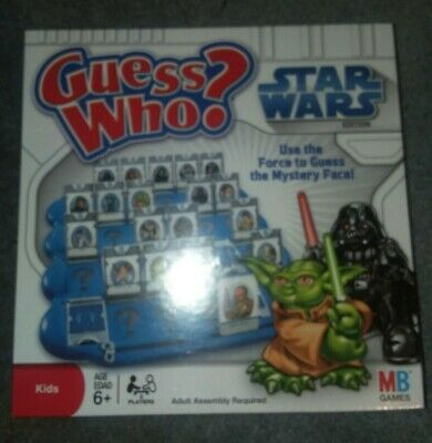 Guess Who? Star Wars Edition~2008 Milton Bradley COMPLETE NEW IN BOX NIB