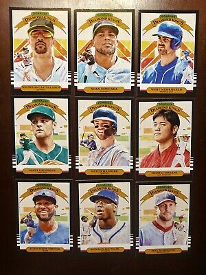 2019 Donruss Diamond Kings #1-30  - You Pick to Complete your Set Singles