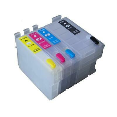 Refillable Cartridge Easy-to-refill Cartridge Pack for EPSON (252, 252XL, 254XL)