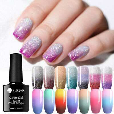 UR SUGAR 7.5ml Vernis à Ongles Gel UV Thermique Nail Art UV Gel Polish Soak off