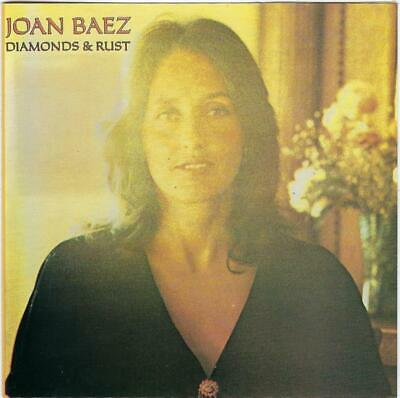 JOAN BAEZ Diamonds & Rust CD - Excellent Condition - Early Pressing No Barcode