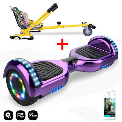 6,5'' Hoverboard Bluetooth Self Balancing Scooter Smart Overboard Con Hoverkart