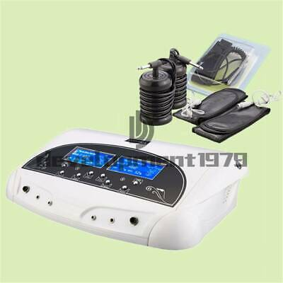 Professional Dual LCD Ion Detox Ionic Foot Bath Spa Clean Machine Infrared Belt