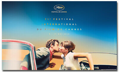 Cannes Film Festival 2018 Poster International Event Print Wall Paper