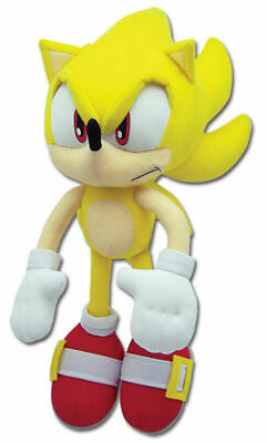 Sonic the Hedgehog Plushie Super Sonic Plush Doll Stuffed Toy Collectible 13 In.