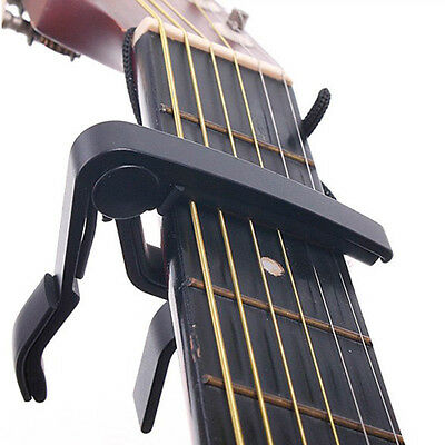 Change Key Capo Clamp for Electric Acoustic Guitar Quick Trigger Release tx Hot