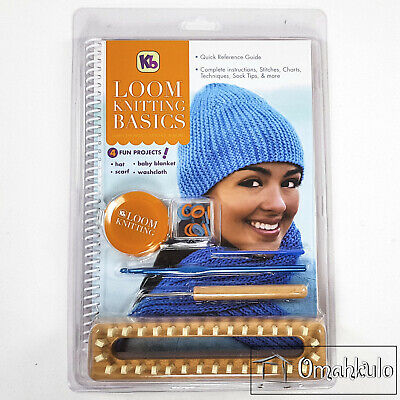 Kb - Loom Knitting Basics - 4 Fun Projects - KB4518