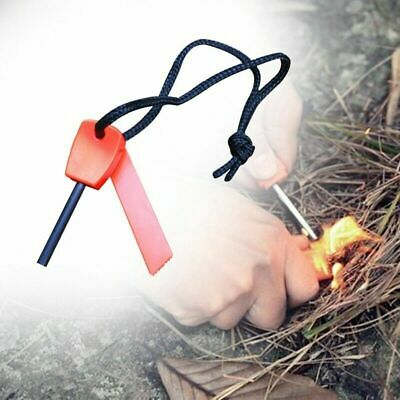 Magnesium Flint Stone Fire Starter Lighter Camping Emergency Funny Selling