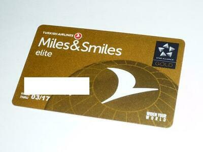 Turkish Airline Elite Upgrade| 4 month Star Alliance Gold| Can extend to 2 years
