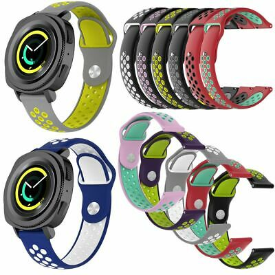 Silicone Sports Strap Bracelet Wrist Watch Band For Samsung Galaxy Watch Active