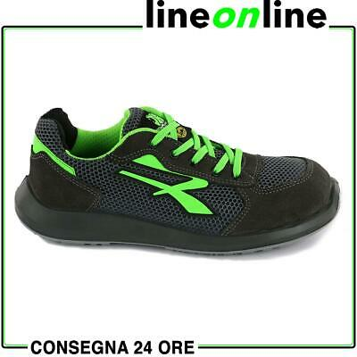 Scarpe antinfortunistiche U Power Gemini S1P ESD Red Up estive e traspiranti