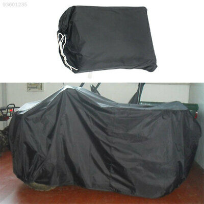 7D26 Black Motorcycle Cover XL/190T Cover Waterproof Anti-Dust Outdoor UV Rays