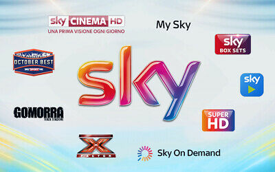 ABBONAMENTO SKY HD NO PREPAGATA SKY, sky tv+2 sky pack hd 34,90 bloccato 36 mesi
